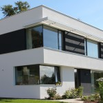 individuell geplantes Einfamilienhaus